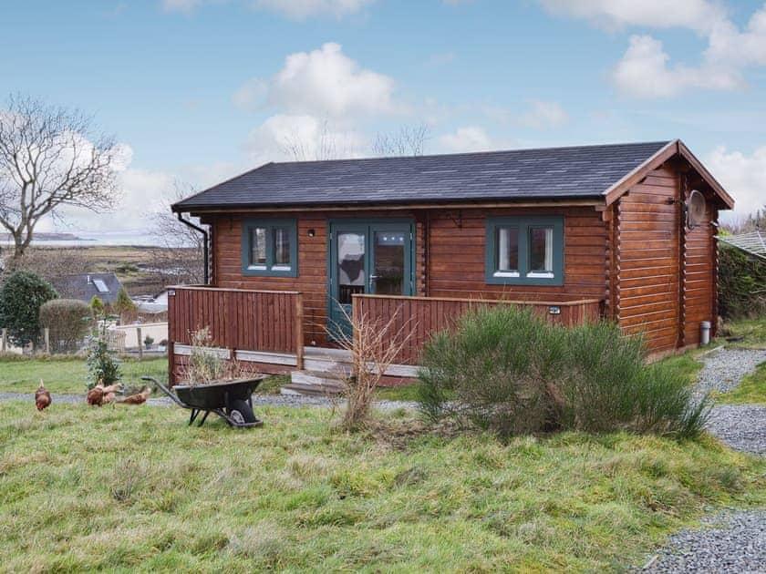Isle of Skye Log Cabin Sea Views
