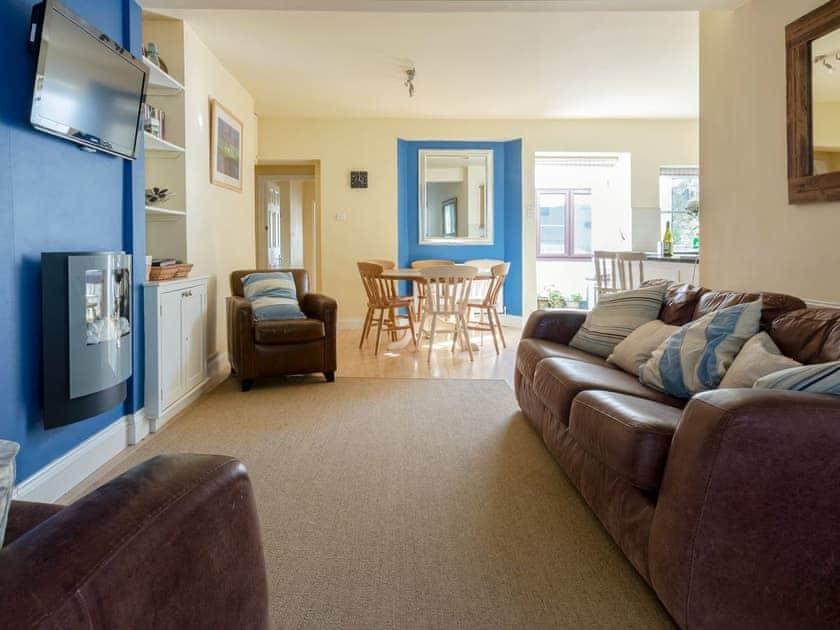 Comfortable living area | Lower Marcam, Salcombe