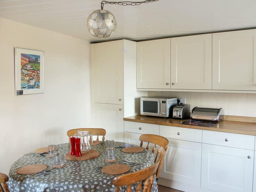 Eating area of kitchen   Sunnyside, Sandsend, Whitby