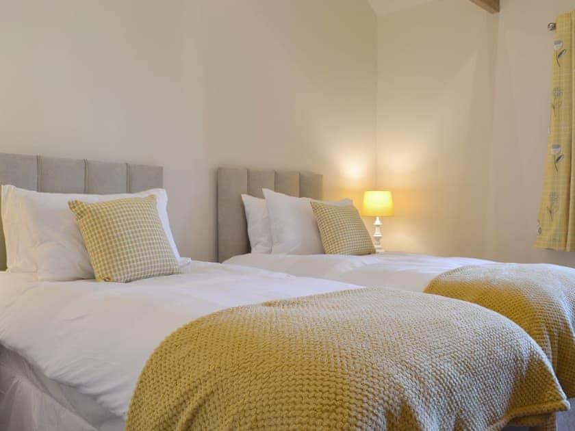 Comfortable twin bedroom | Grange Cottage, Harome, near Helmsley