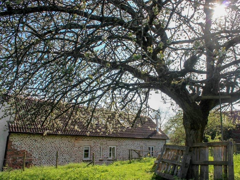 In a wonderful setting   The Cider Barn at Emmings Farm, Elton, Newnham-on-Severn