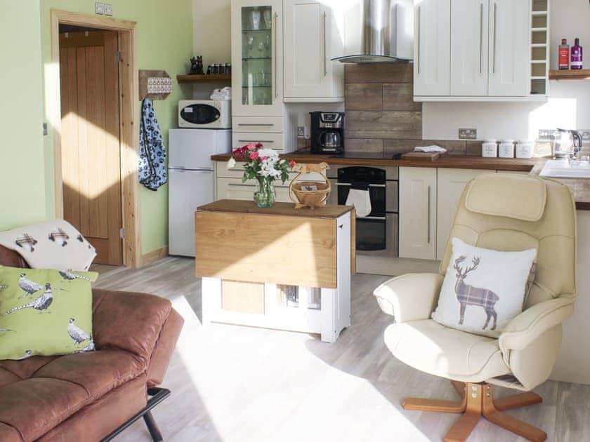 Convenient open-plan living space | Daleview Cottage, Woodland, near Barnard Castle