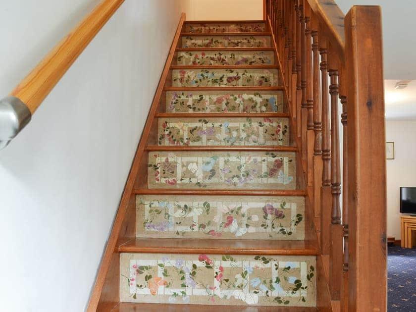 Decorative stairs   Hobbits, Marazion, Penzance