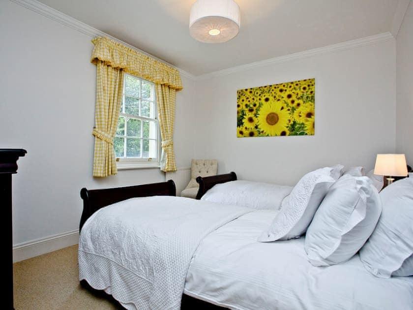 Charming twin bedroom | Ashlar House, Wells