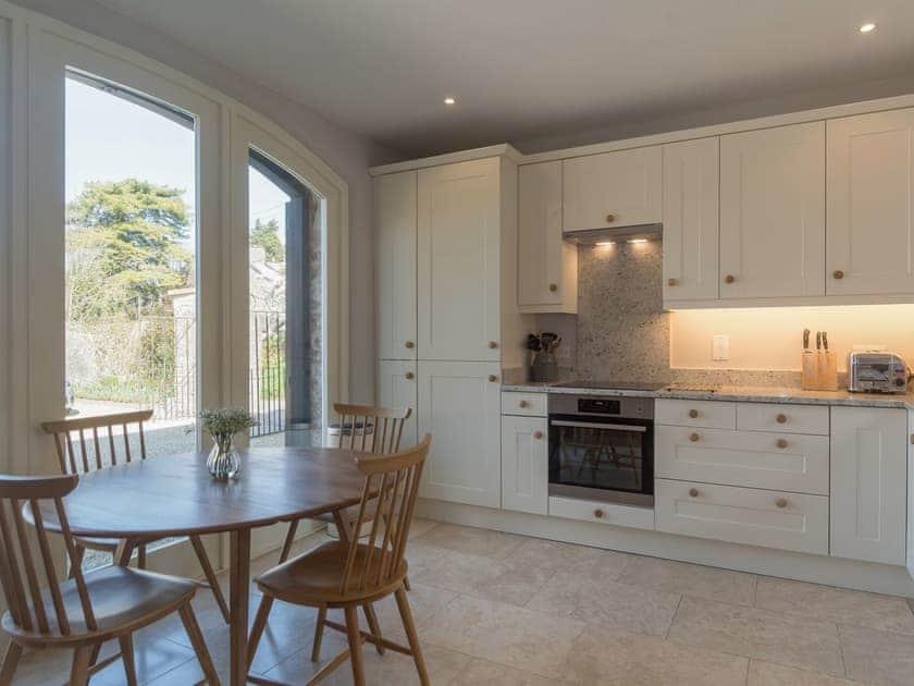 Roomy kitchen with breakfast area | The Coach House, Compton Martin, near Bath