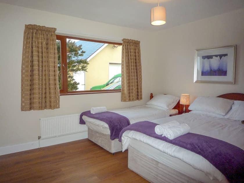 Twin bedroom | Behy Lodge, Glenbeigh