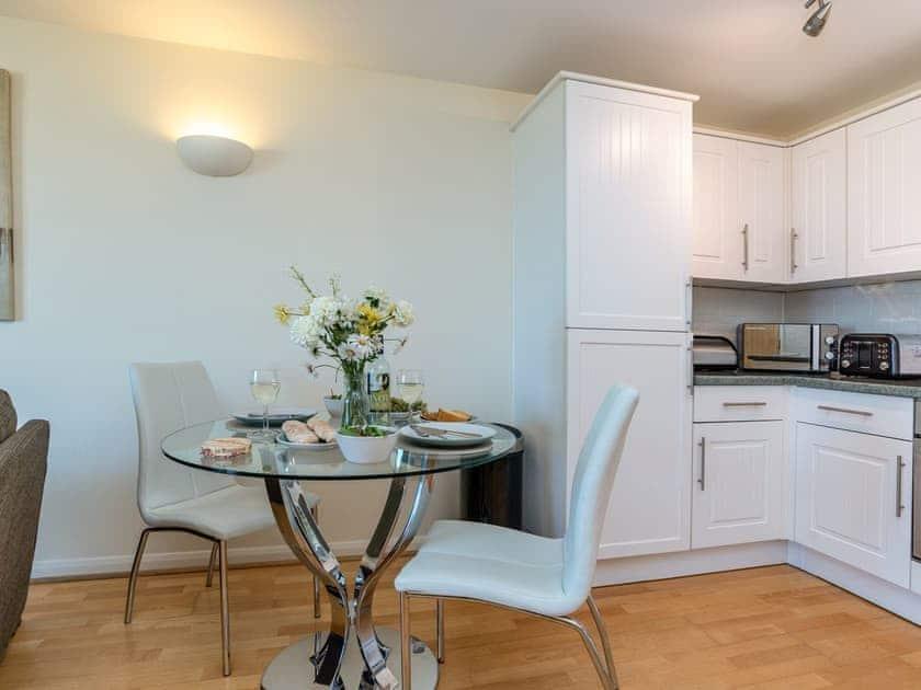 Intimate dining area | 8 Belvedere Court - Belvedere Court, Paignton