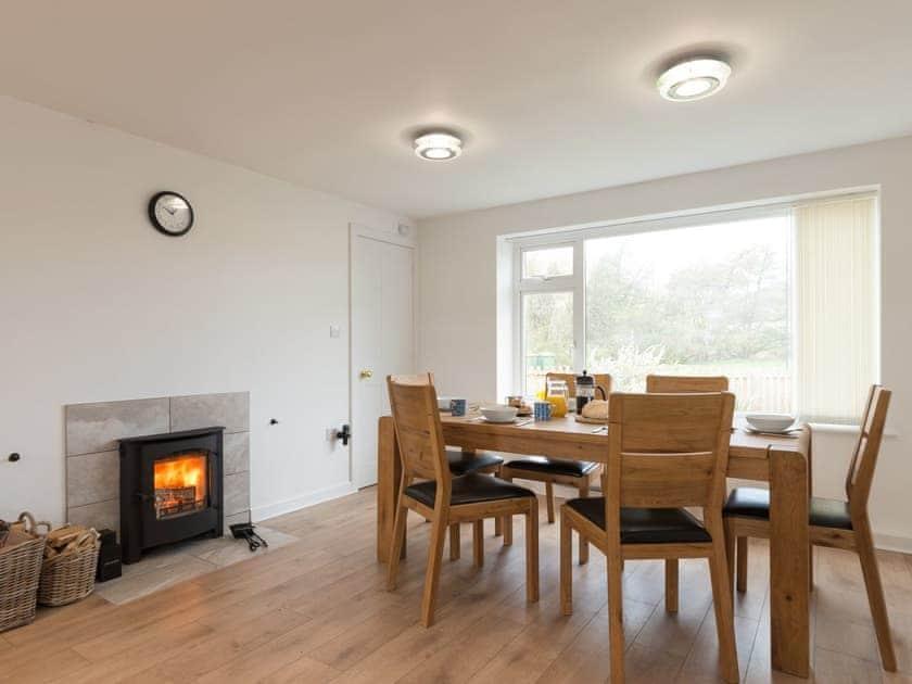 Wood burner in dining area | Fryup Gill Cottage 2 - Fryup Gill Cottages, Great Fryup, near Whitby