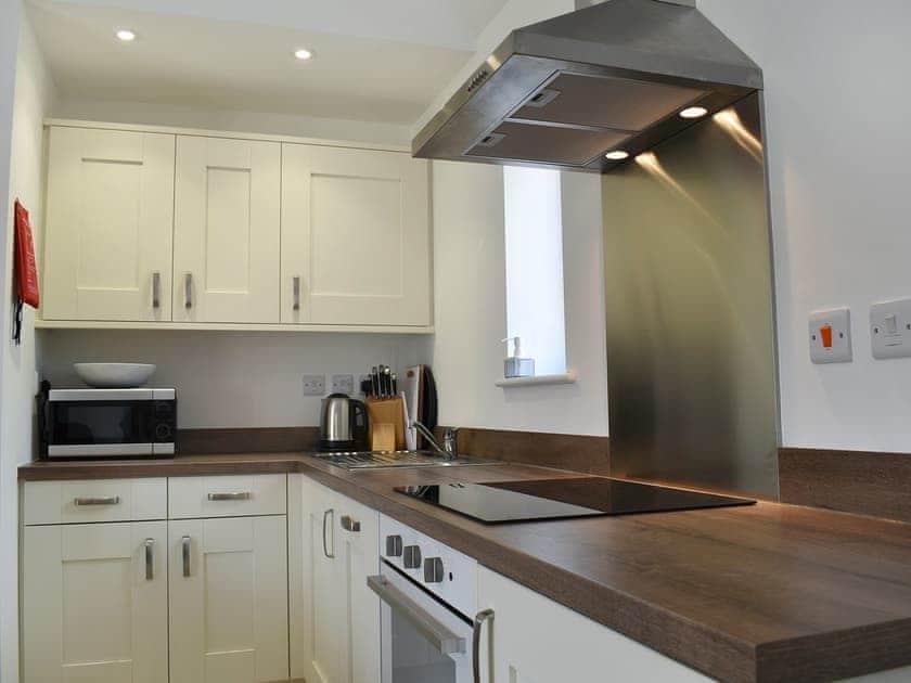 Immaculately presented kitchen area | Park Hill Barn, Woolaston, near Chepstow