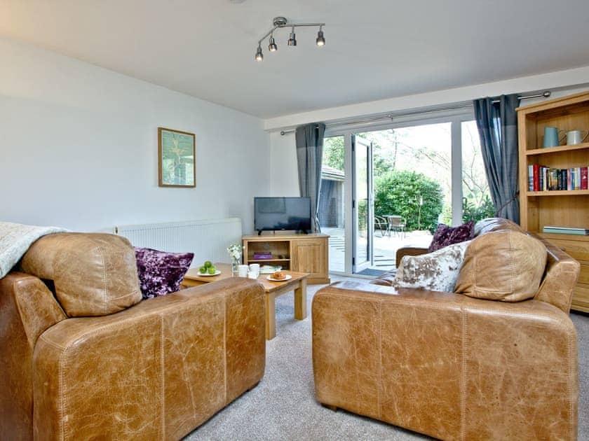 Stylish living area | Lake Side Apartment, 15 Indio Lake - Indio Lake, Bovey Tracey