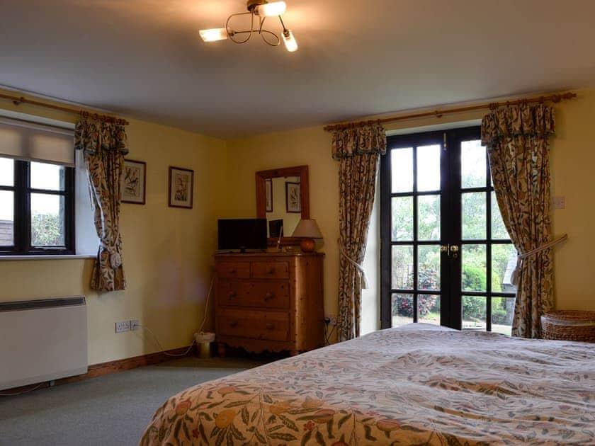 Double bedroom | The Old School Penallt , Penallt, near Monmouth