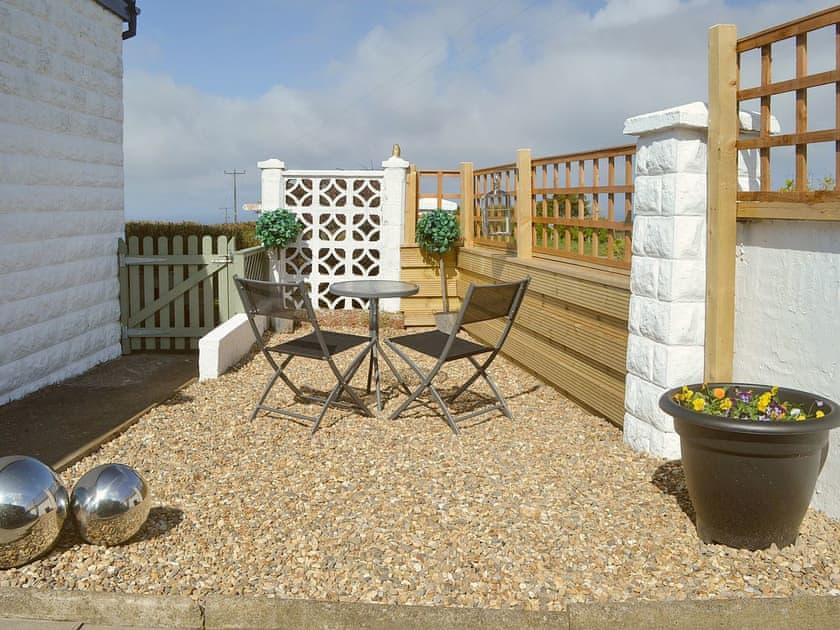 Enclosed patio area | The Yorkshireman, Ravenscar, near Robin Hood's Bay