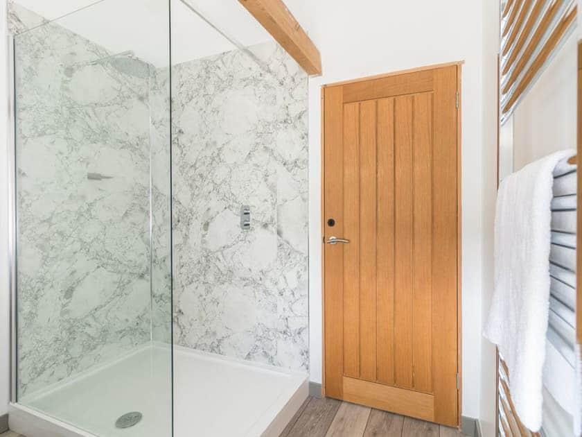En-suite shower room | Grange Cottage, Harome, near Helmsley