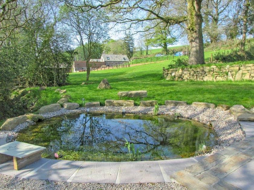 Lovely garden and grounds | Lower Millcombe Barns, Linkinhorne, near Callington