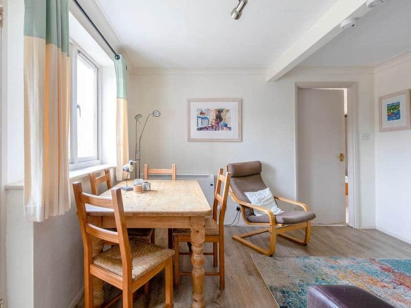 Living room/dining room | Estuary House, Flat 3, Salcombe