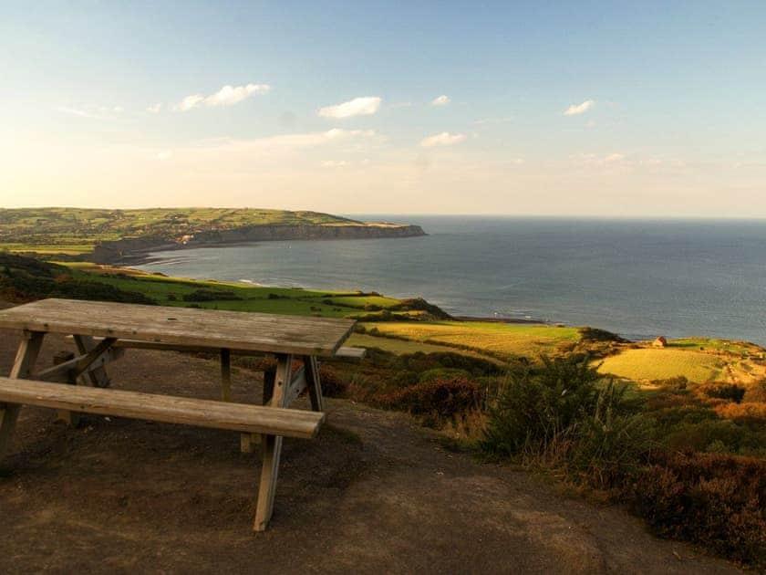 Stunning local coastal views | The Yorkshireman, Ravenscar, near Robin Hood's Bay