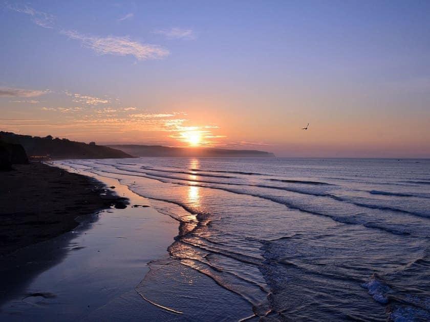 Picturesque local sunset | The Yorkshireman, Ravenscar, near Robin Hood's Bay