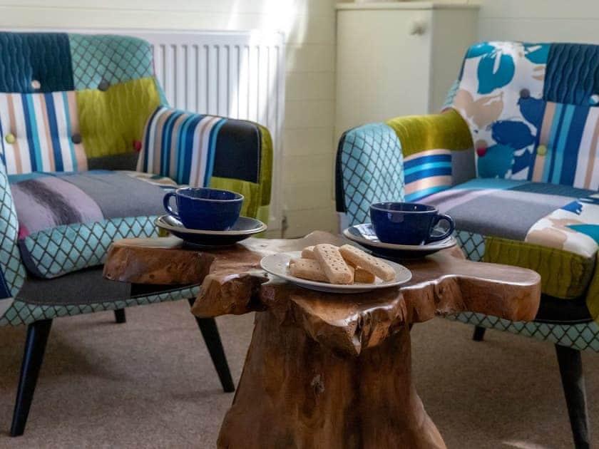 Sitting area   Rowborough Cottage - Cheverton Farm, Shorwell