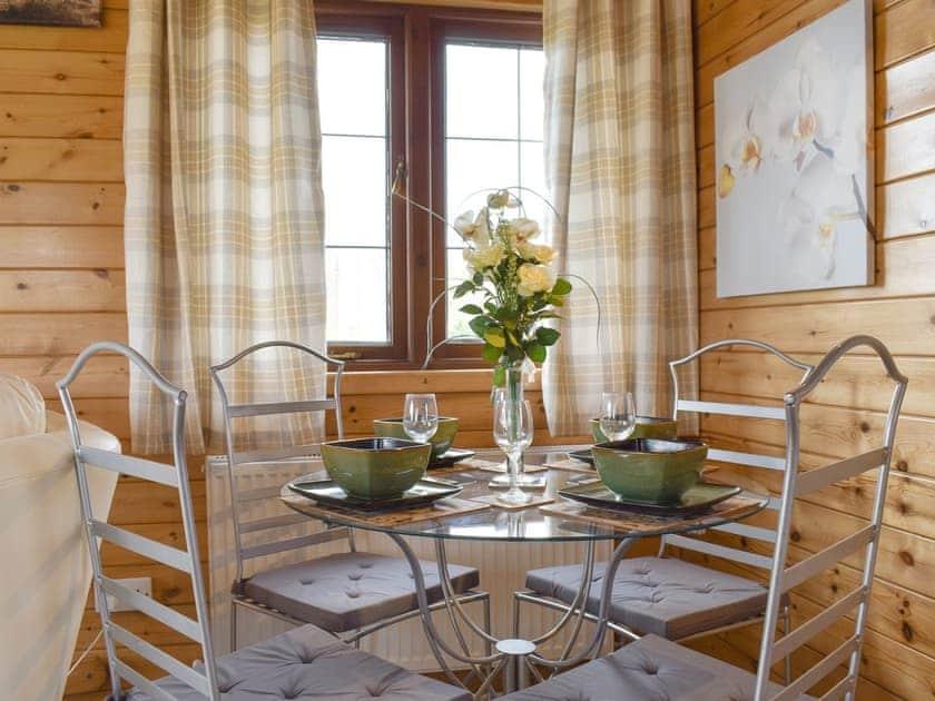 Convenient dining area | Llama Lodge, Churchstanton, near Honiton