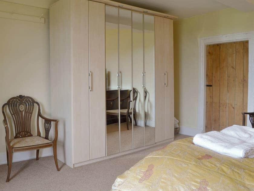 Spacious double bedroom | Little Garway Farm, Garway Hill