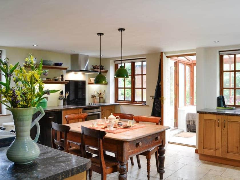 Kitchen and dining area   Perthygwenyn, Mydroilyn, near Aberaeron