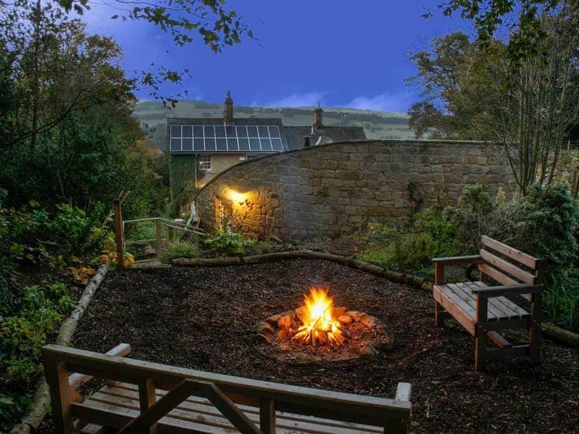 Wonderful firepit on-site | Swansfield Stables, Alnwick