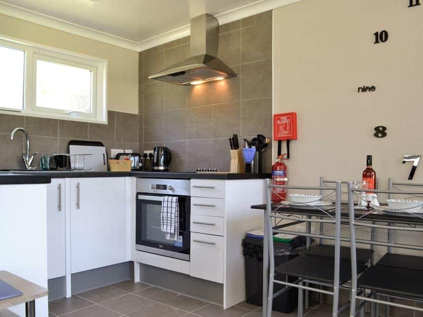 Open plan living space   Jonelka - Woodlands Park Retreats, Gilfachrheda, near New Quay