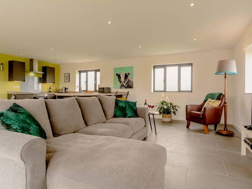Open plan living space | The Sett, Stone Allerton, near Cheddar