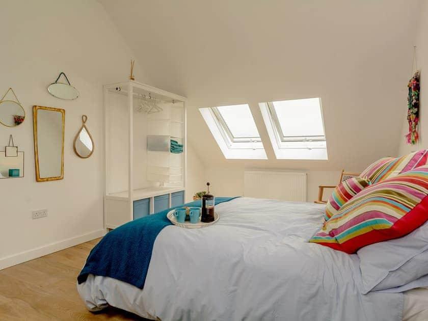 Double bedroom | The Sett, Stone Allerton, near Cheddar