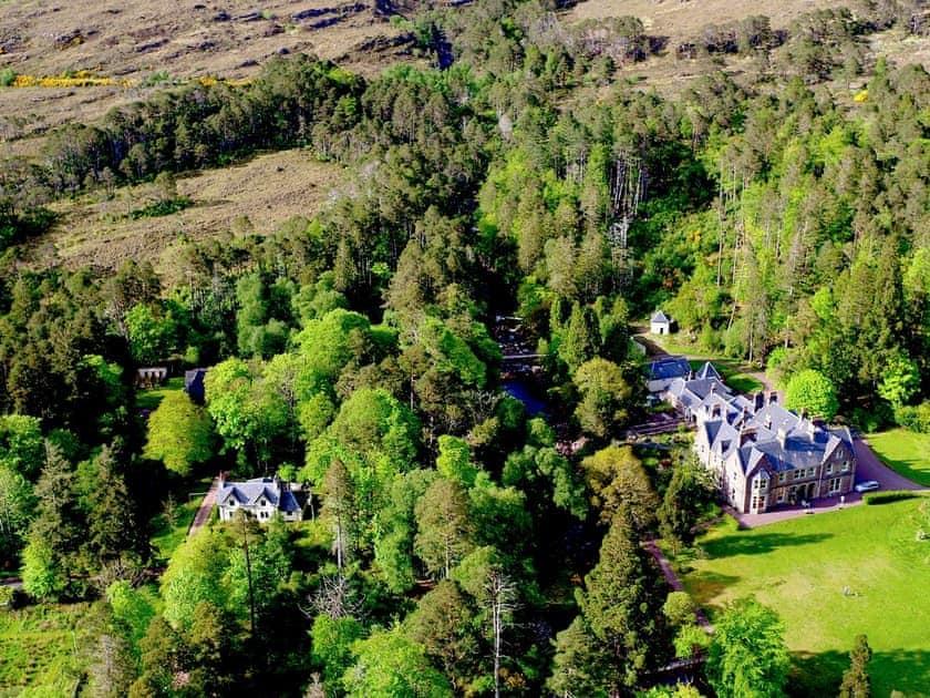 Aerial view   Torridon House - Torridon Estate, Torridon