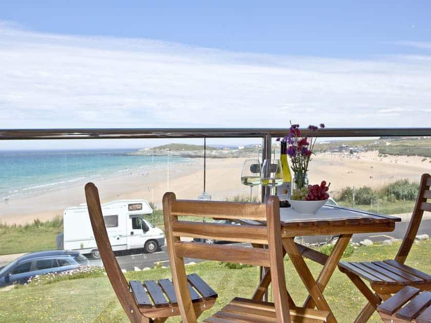 Balcony | 8 Waters Edge - Waters Edge, Newquay