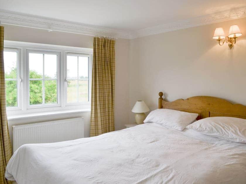 Peaceful double bedroom   Walnut Tree House, Tilney St Lawrence, near King's Lynn