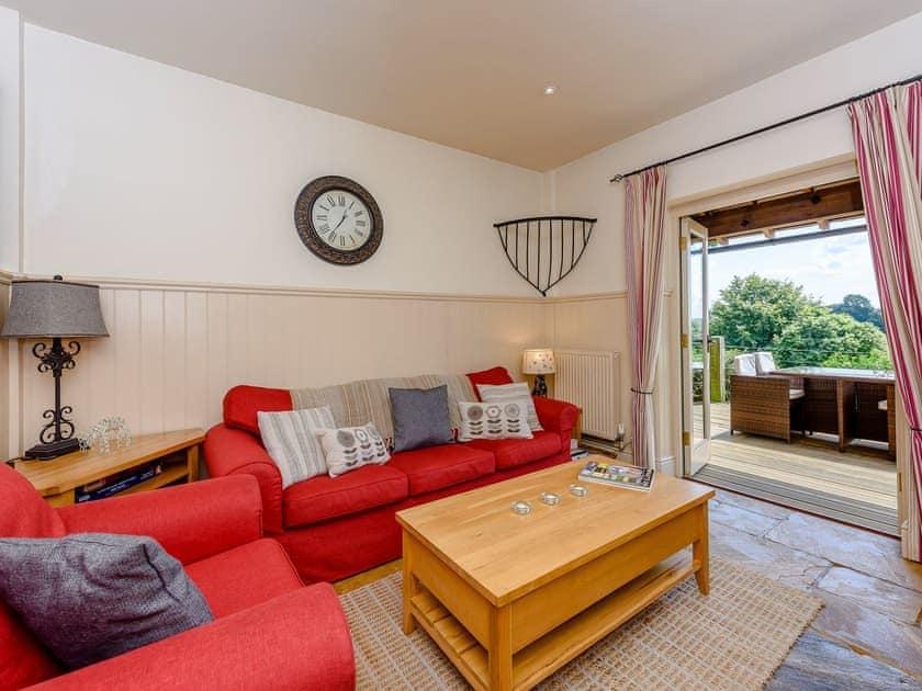 Cosy living area | Castlemans Stables East - Castleman's Stables, Sedlescombe, near Battle