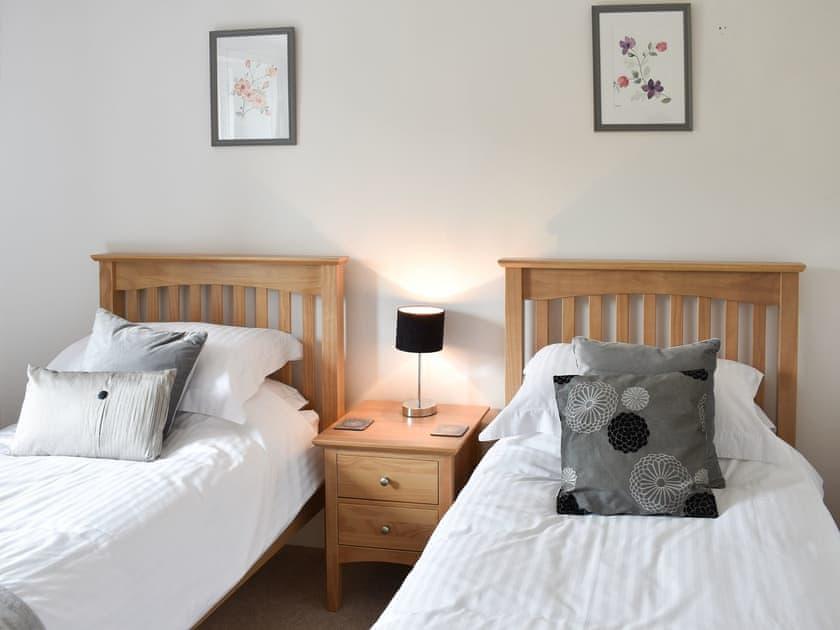 Twin bedroom   Eden View, Appleby