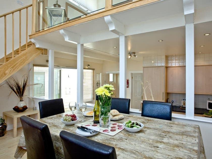 Dining area   Sea Front House 6 - Golden Bay Holiday Village, Westward Ho!