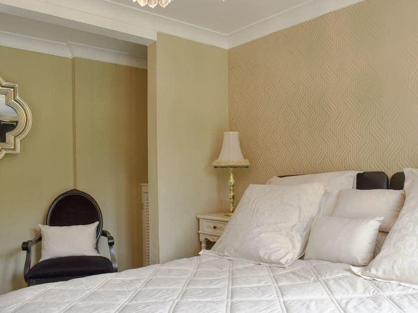 Comfortable double bedroom   The Little Abbey - The Berkley Lodges, Beckley, near Rye