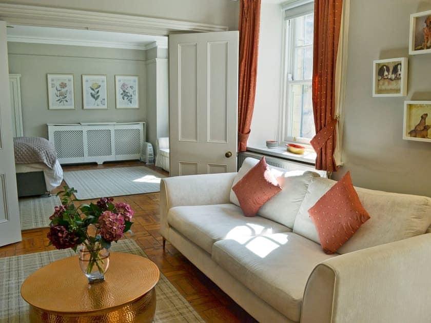 Comfortable living area | The Garden Room - Bridge House Cottages, Corbridge, near Hexham