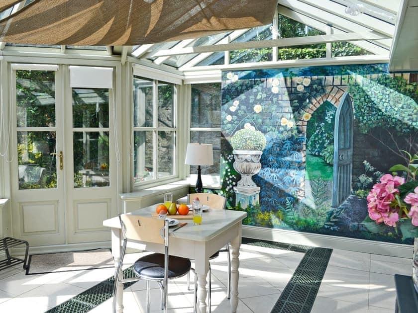 Light and airy conservatory | The Garden Room - Bridge House Cottages, Corbridge, near Hexham