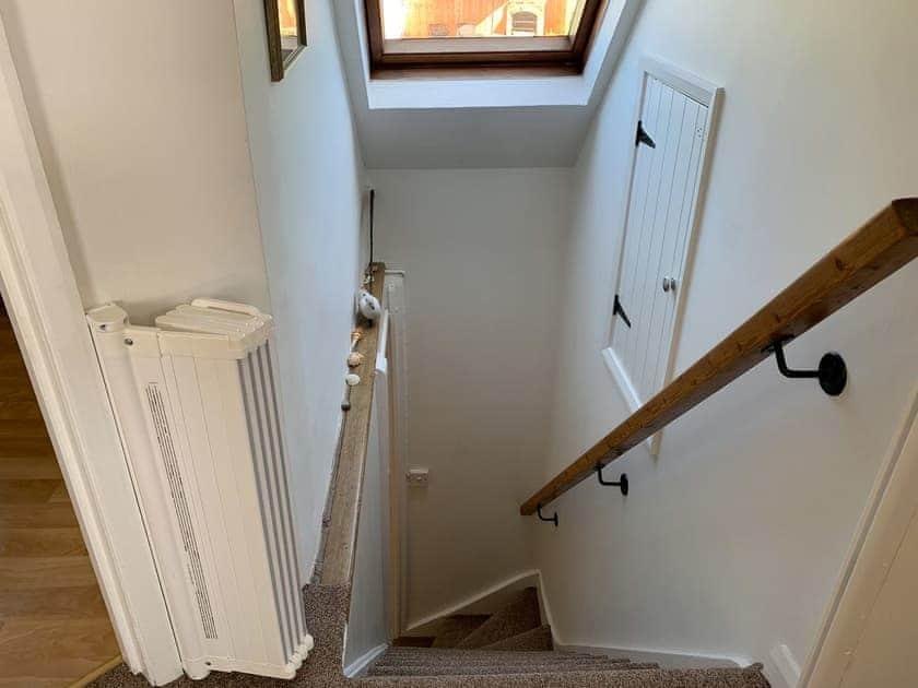 Stairs   Rowborough Cottage - Cheverton Farm, Shorwell