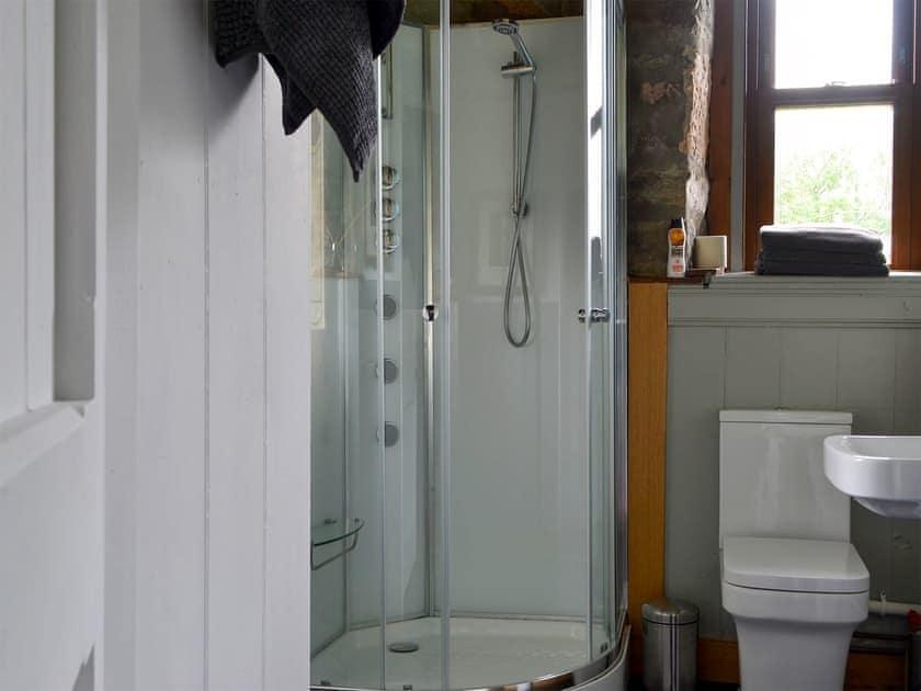 Shower room | The Schoolhouse, Dalhalavaig, near Melvich