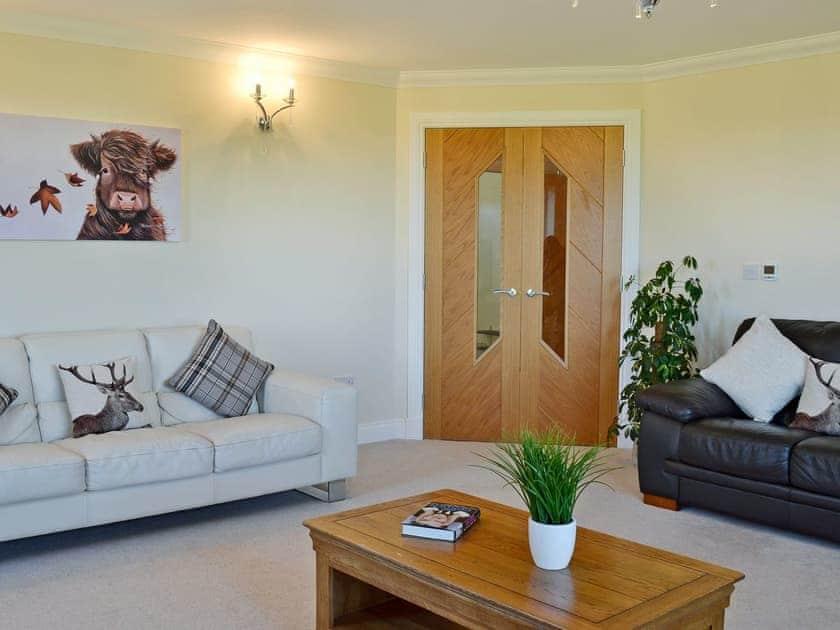 Charming living room | Wheatfield House, Kilmaurs, near Kilmarnock