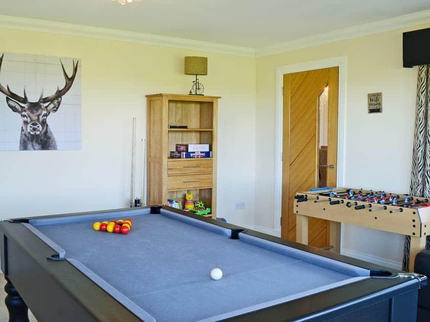 Fun games room | Wheatfield House, Kilmaurs, near Kilmarnock