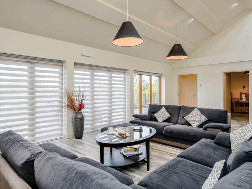 Comfortable living space | Holton Barn - White House Lodges, Heveningham, near Halesworth
