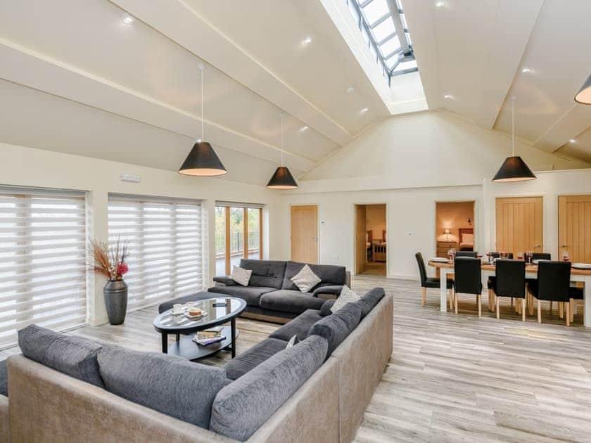 Large living area | Holton Barn - White House Lodges, Heveningham, near Halesworth