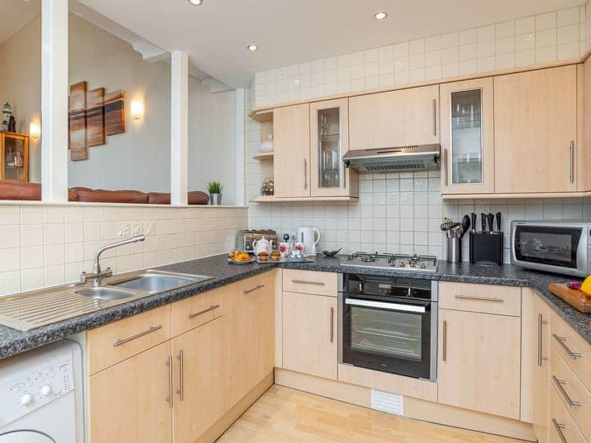 Kitchen | Sea Front House 5 - Golden Bay Holiday Village, Westward Ho!