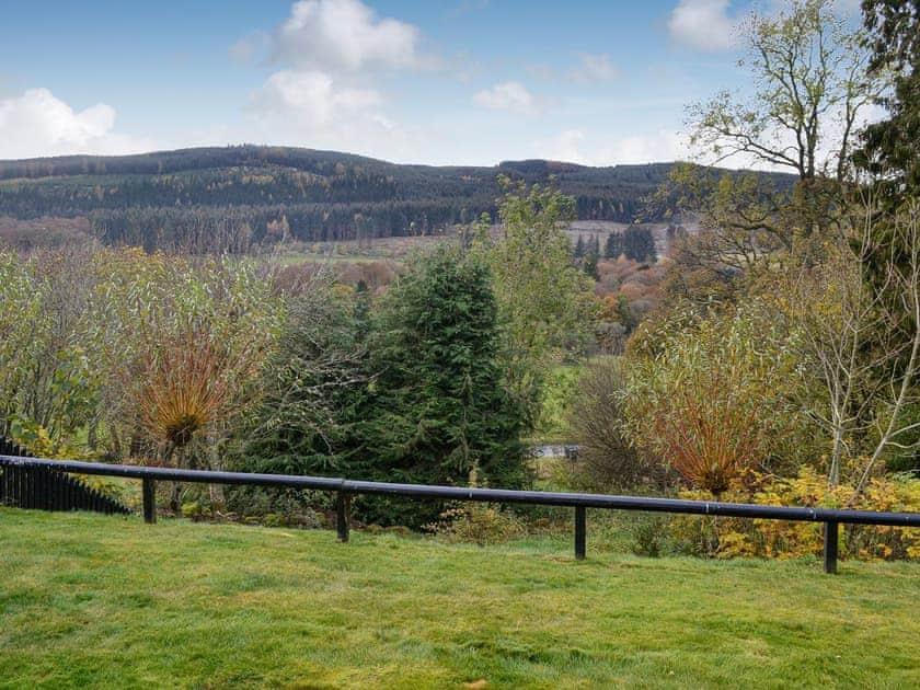 View | Heather Lodge - Cally Farm Cottages, Ballintuim, near Blairgowrie