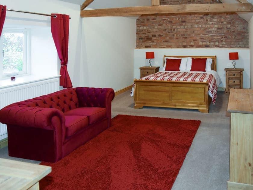 Relaxing master bedroom | Grange Cottage, Harome, near Helmsley