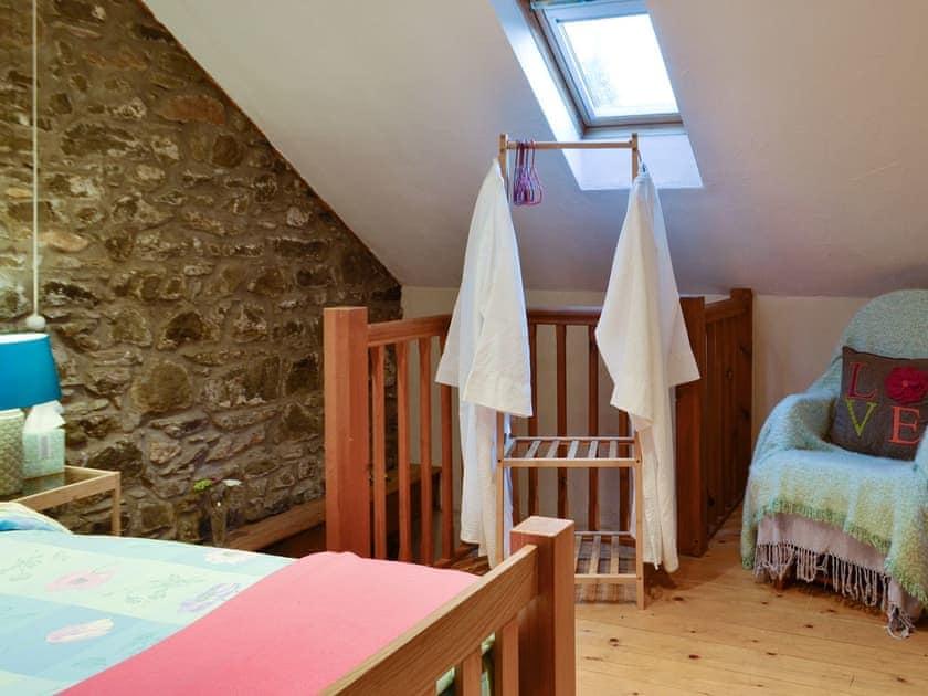 Peaceful double bedroom | The Pig Sty - Cwm Clyd, Near Llandovery