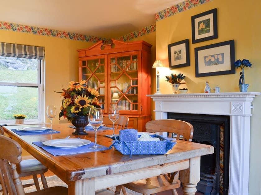 Lovely and practical dining room   Vindolanda, Fearnbeg, near Applecross