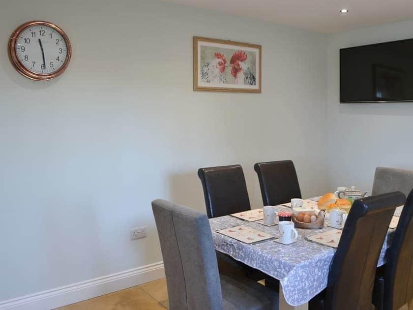 Lovely dining area | Red Hen Cottage, Acklington
